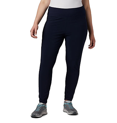 Women's Place to Place™ Highrise Leggings Place to Place™ Highrise Legging | 472 | 1X, Dark Nocturnal, front