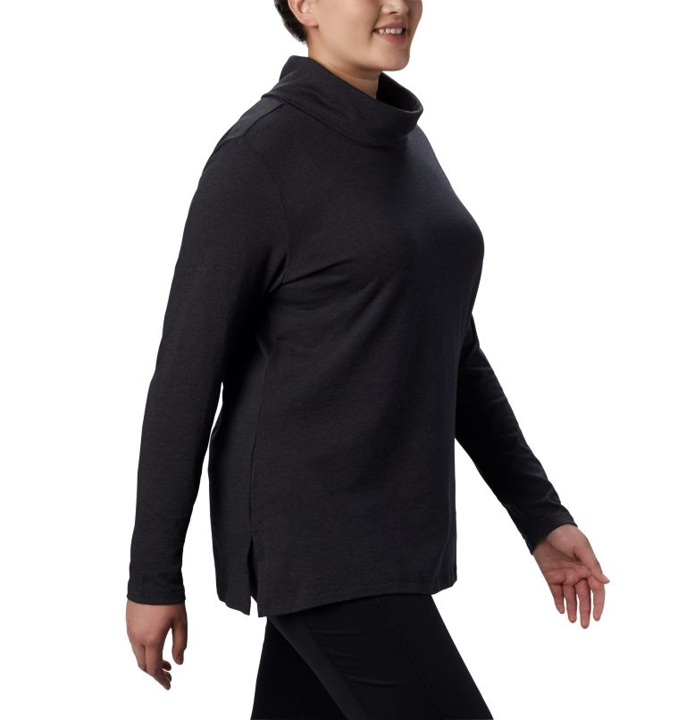 Women's Canyon Point™ Cowl Neck Shirt - Plus Size Women's Canyon Point™ Cowl Neck Shirt - Plus Size, a2