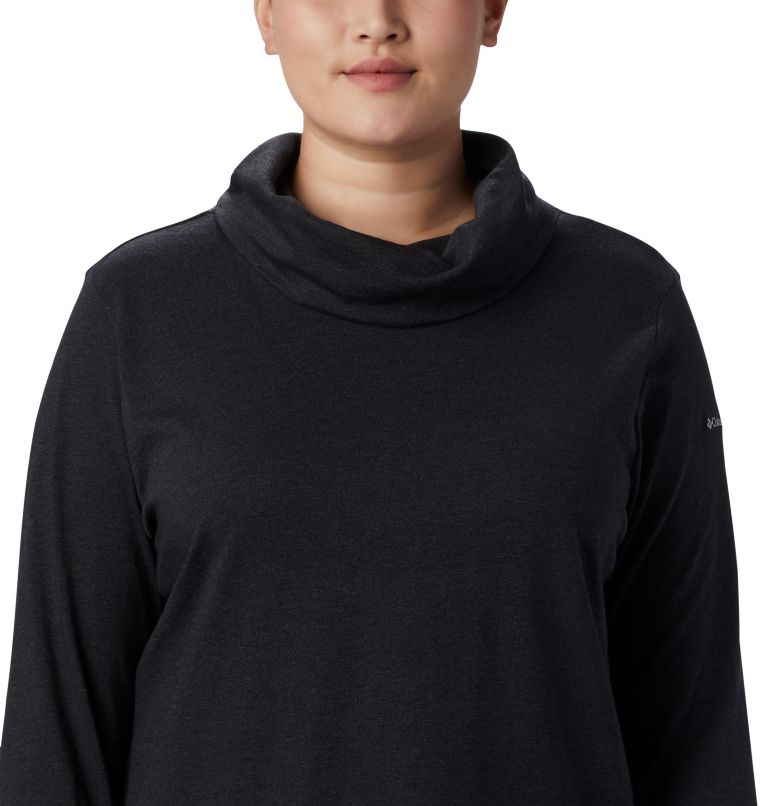 Women's Canyon Point™ Cowl Neck Shirt - Plus Size Women's Canyon Point™ Cowl Neck Shirt - Plus Size, a4
