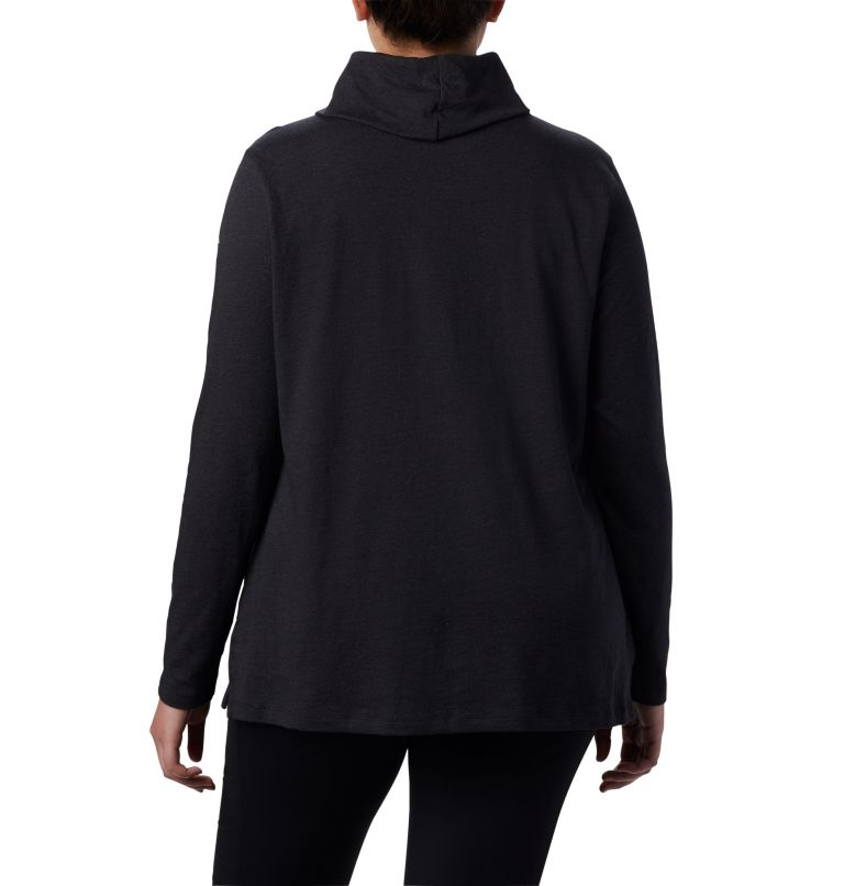Women's Canyon Point™ Cowl Neck Shirt - Plus Size Women's Canyon Point™ Cowl Neck Shirt - Plus Size, back