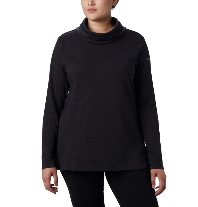 Women's Canyon Point™ Cowl Neck Shirt - Plus Size Women's Canyon Point™ Cowl Neck Shirt - Plus Size, front