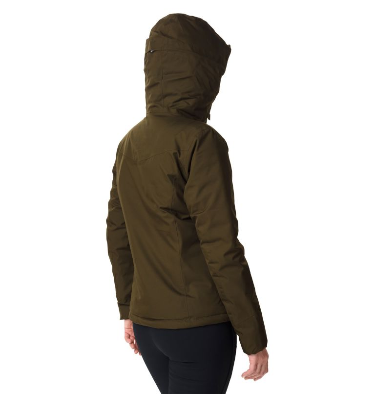 Windgates™ Insulated Jacket | 319 | S Veste Isolée Windgates™ Femme, Olive Green, back