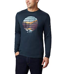 T-shirt imprimé à manches longues Cades Cove™ pour homme