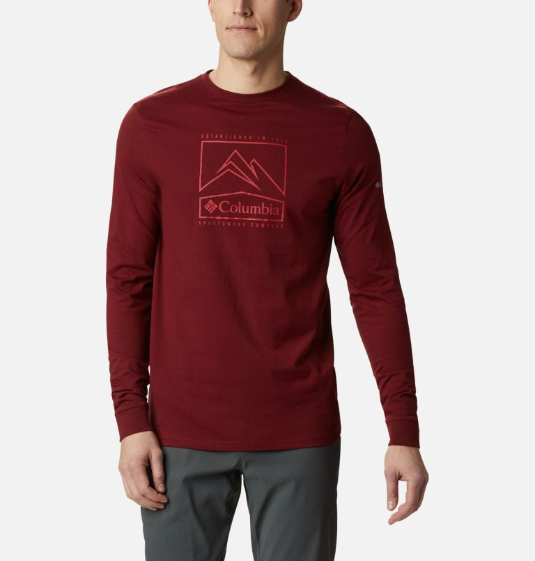Men's Cades Cove™ Long Sleeve Graphic Tee Men's Cades Cove™ Long Sleeve Graphic Tee, front