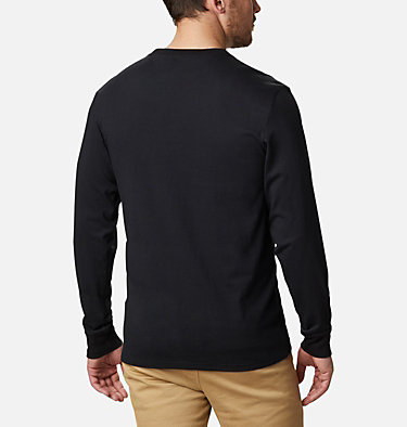 T-shirt Cades Cove Long Sleeve Graphic da uomo Cades Cove™ LS Graphic Tee | 011 | S, Black Jagged Peak, back