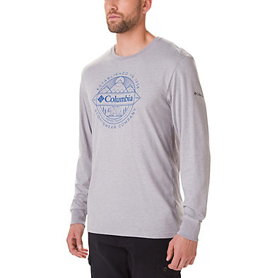Men's Cades Cove Long Sleeve Graphic T-Shirt , front