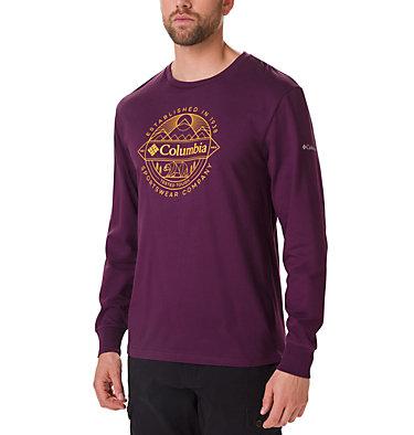 T-shirt Graphique À Manches Longues Cades Cove Homme , front