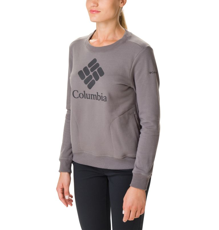 Women's Columbia Lodge Crew Sweatshirt Women's Columbia Lodge Crew Sweatshirt, front