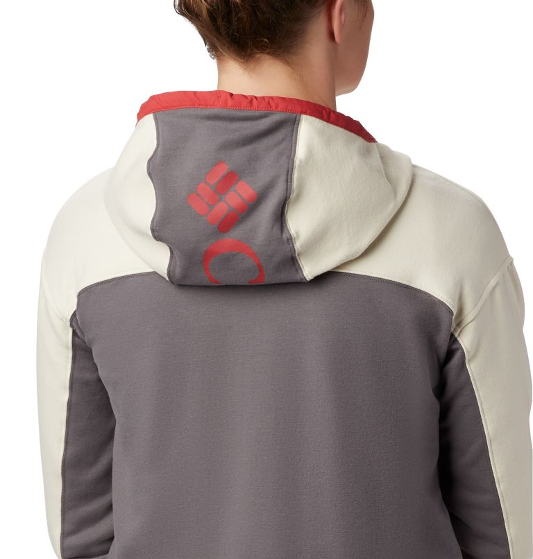Columbia Lodge™ Full Zip | 023 | XL Columbia Lodge Full Zip Hoodie für Damen, City Grey Heather, Chalk Heather, a1