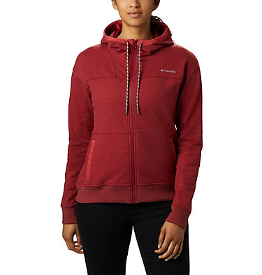 Felpa con cappuccio Columbia Lodge Full Zip da donna , front