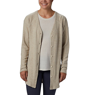 Women's By the Hearth™ Cardigan By the Hearth™ Cardigan | 010 | L, Chalk, front