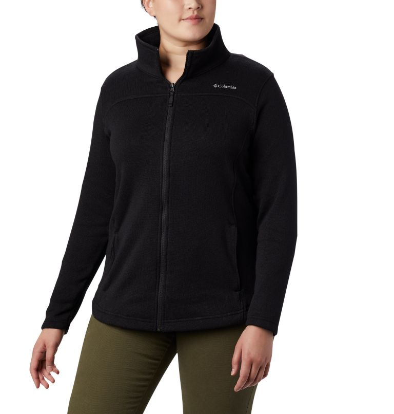 Women's Canyon Point™ Fleece Full Zip - Plus Size Women's Canyon Point™ Fleece Full Zip - Plus Size, front