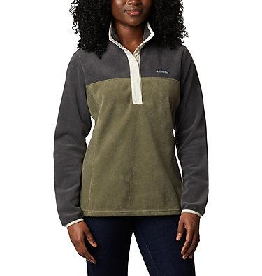Women's Benton Springs™ Half Snap Pullover Benton Springs™ 1/2 Snap Pullover | 671 | L, Shark, Stone Green, front