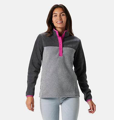 Women's Benton Springs™ Half Snap Pullover Benton Springs™ 1/2 Snap Pullover | 671 | L, Light Grey Heather, Shark, front