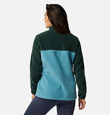 Women's Benton Springs™ Half Snap Pullover Benton Springs™ 1/2 Snap Pullover | 604 | XL, Spruce, Canyon Blue, back