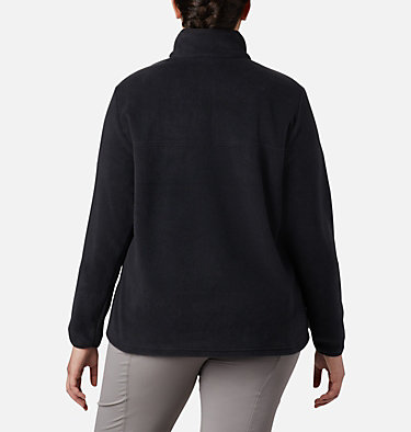 Women's Benton Springs™ Half Snap Pullover - Plus Size Benton Springs™ 1/2 Snap Pullover | 671 | 1X, Black, back