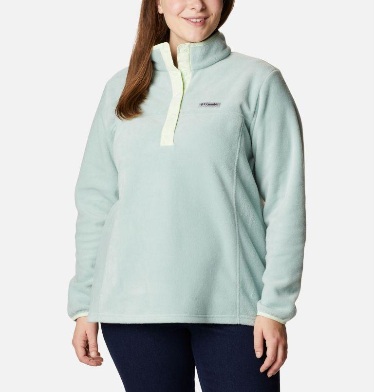 Women's Benton Springs™ Half Snap Pullover - Plus Size Women's Benton Springs™ Half Snap Pullover - Plus Size, front