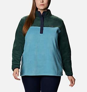 Women's Benton Springs™ Half Snap Pullover - Plus Size