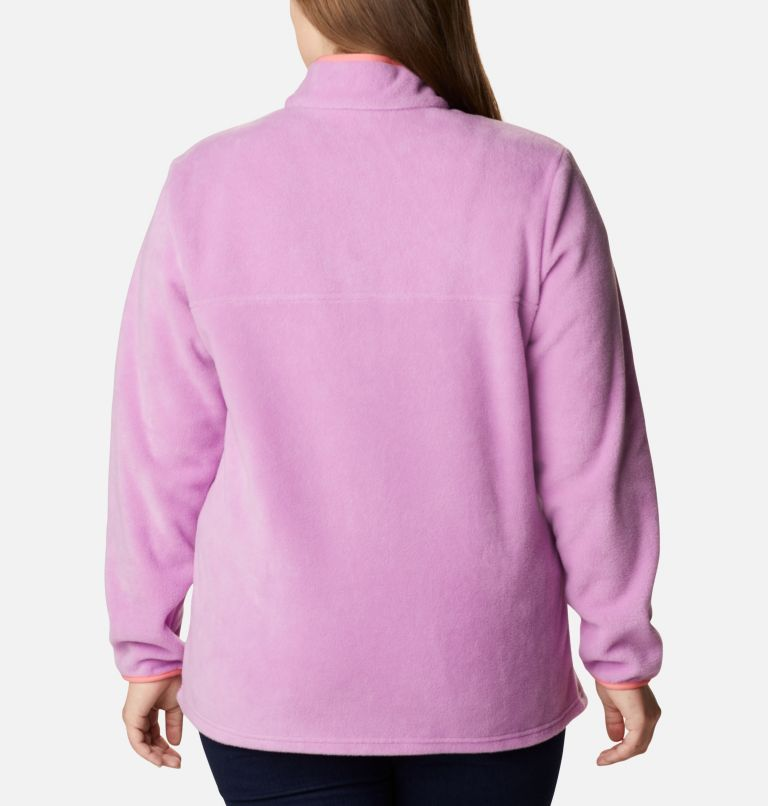 Women's Benton Springs™ 1/2 Snap Pullover - Plus Size Women's Benton Springs™ 1/2 Snap Pullover - Plus Size, back
