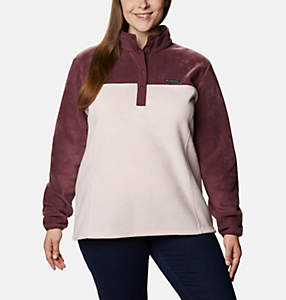 Women's Benton Springs™ Half Snap Pullover - Plus Size