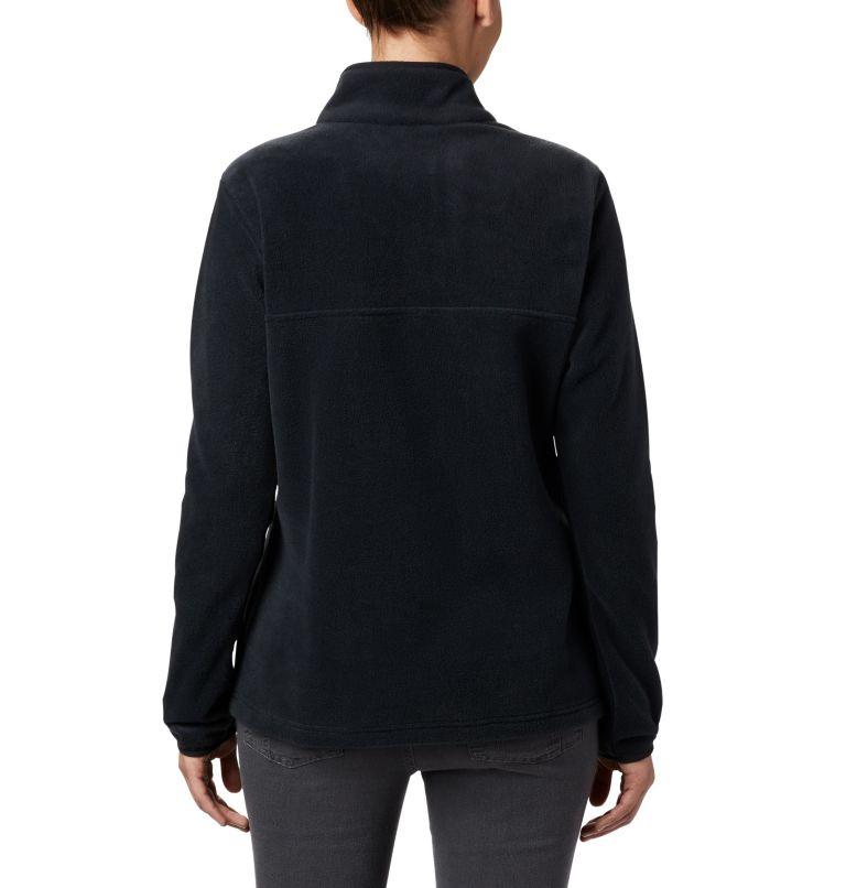 Benton Springs™ 1/2 Snap Pullover   010   PXS Women's Benton Springs™ 1/2 Snap Pullover - Petite, Black, back
