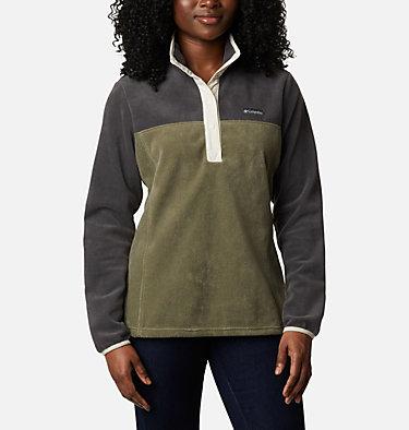 Women's Benton Springs™ Half Snap Pullover - Petite Benton Springs™ 1/2 Snap Pullover | 060 | PXS, Shark, Stone Green, front