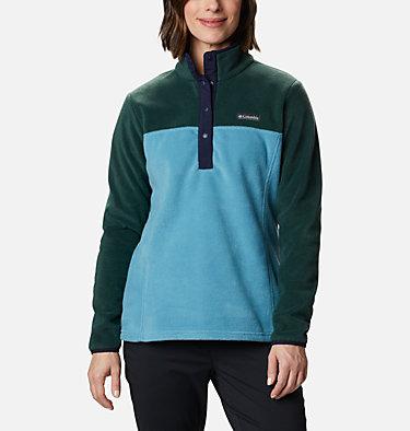 Women's Benton Springs™ Half Snap Pullover - Petite Benton Springs™ 1/2 Snap Pullover | 060 | PXS, Spruce, Canyon Blue, front