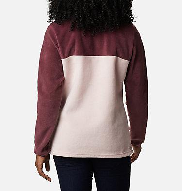 Women's Benton Springs™ Half Snap Pullover - Petite Benton Springs™ 1/2 Snap Pullover | 060 | PXS, Malbec, Mineral Pink, back