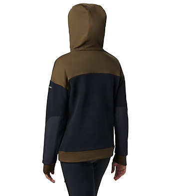 Anorak Exploration Fleece da donna Exploration™ Fleece Anorak | 010 | XL, Black, Olive Green, back
