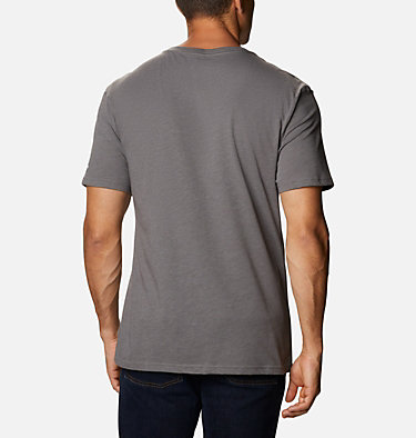 T-shirt Basin Butte™ Short Sleeve Graphic da uomo Basin Butte™ SS Graphic Tee | 010 | S, City Grey Branded Sunshade, back