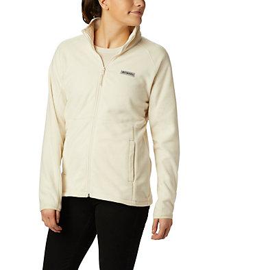 Women's Basin Trail™ Fleece Full Zip Top Basin Trail™ Fleece Full Zip   481   XS, Chalk, front