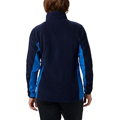 Women's Basin Trail™ Fleece Full Zip Top Basin Trail™ Fleece Full Zip   481   XS, Dark Nocturnal, Fathom Blue, back