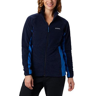 Women's Basin Trail™ Fleece Full Zip Top Basin Trail™ Fleece Full Zip   481   XS, Dark Nocturnal, Fathom Blue, front