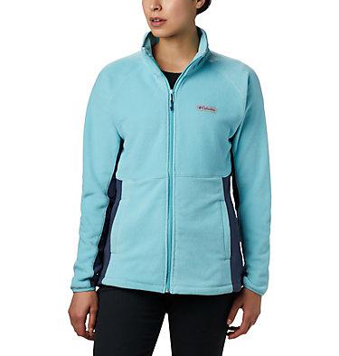 Women's Basin Trail™ Fleece Full Zip Top Basin Trail™ Fleece Full Zip   481   XS, Aquatint, Nocturnal, front