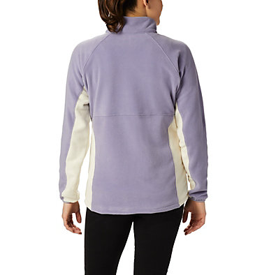 Women's Basin Trail™ Fleece Full Zip Top Basin Trail™ Fleece Full Zip   481   XS, Dusty Iris, Chalk, back