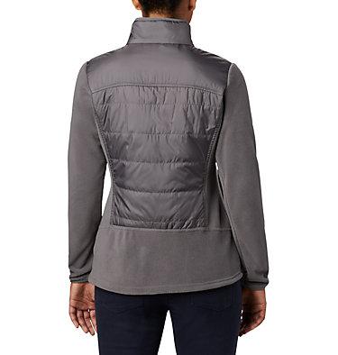 Women's Basin Butte™ Fleece Full Zip Jacket Basin Butte™ Fleece Full Zip   370   L, City Grey, back