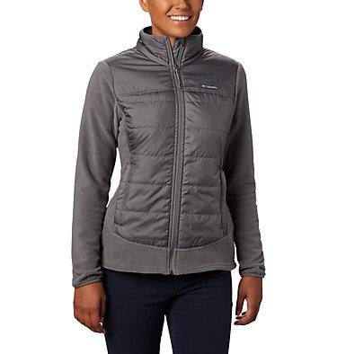 Women's Basin Butte™ Fleece Full Zip Jacket Basin Butte™ Fleece Full Zip   370   L, City Grey, front