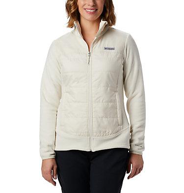Women's Basin Butte™ Fleece Full Zip Jacket Basin Butte™ Fleece Full Zip   370   L, Chalk, front