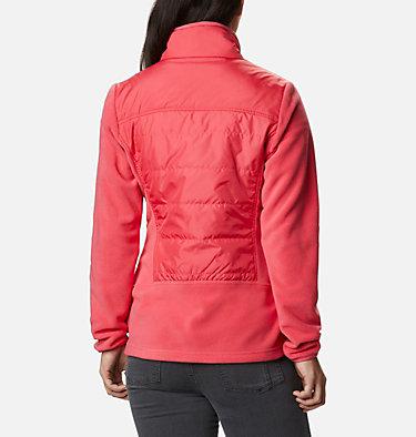 Women's Basin Butte™ Fleece Full Zip Jacket Basin Butte™ Fleece Full Zip   370   L, Bright Geranium, back