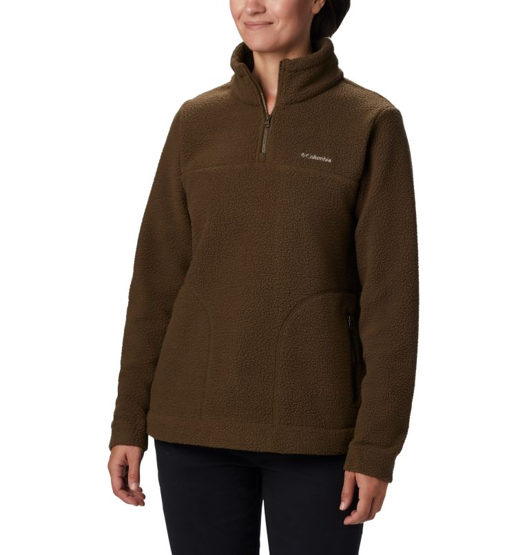 Women's Canyon Point™ Sherpa Pullover Women's Canyon Point™ Sherpa Pullover, front