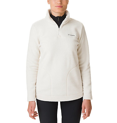 Women's Canyon Point Sherpa Half-Zip Fleece , front