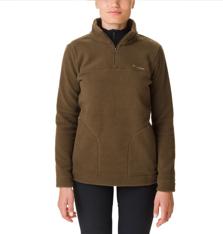 Pullover Canyon Point Sherpa da donna Pullover Canyon Point Sherpa da donna, front