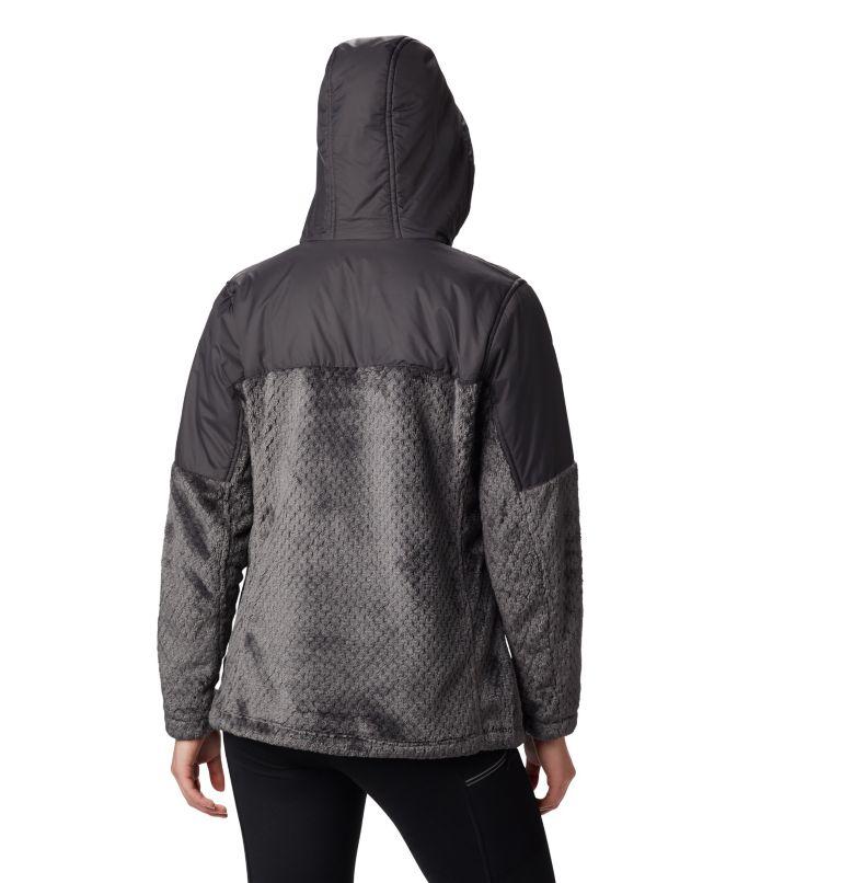 Women's Fire Side™ Plush Hooded Full Zip Fleece Women's Fire Side™ Plush Hooded Full Zip Fleece, back
