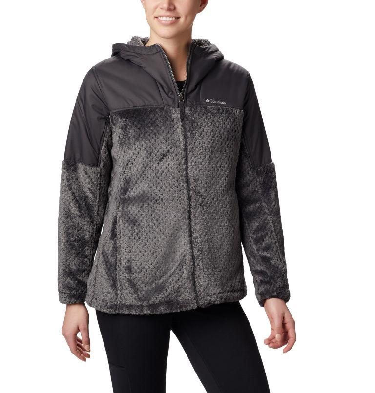 Women's Fire Side™ Plush Hooded Full Zip Fleece Women's Fire Side™ Plush Hooded Full Zip Fleece, front