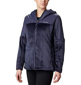 Women's Fire Side™ Plush Hooded Full Zip Fleece