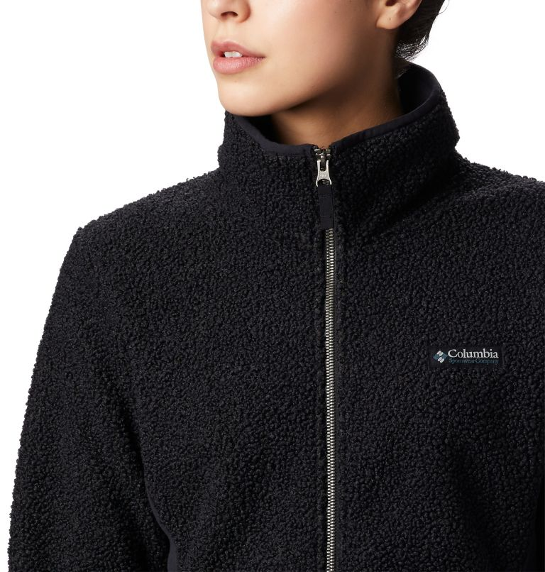 Panorama™ Full Zip | 010 | L Veste Polaire Sherpa Panorama™ Femme, Black, a2