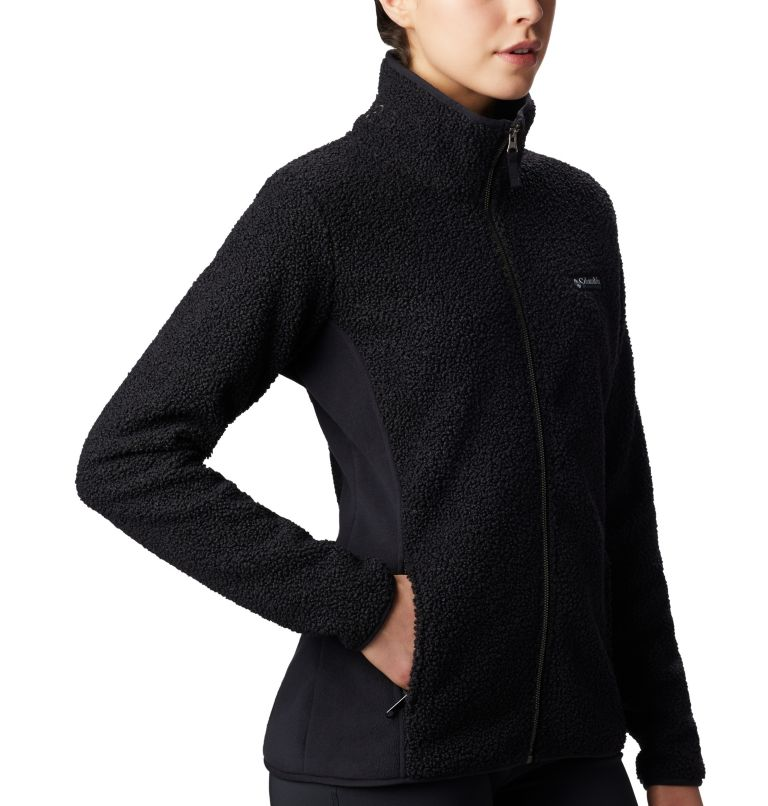 Panorama™ Full Zip | 010 | L Veste Polaire Sherpa Panorama™ Femme, Black, a3