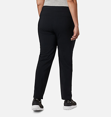 Women's Back Beauty™ II Slim Pants - Plus Size Back Beauty™ II Slim Pant | 023 | 1X, Black, back