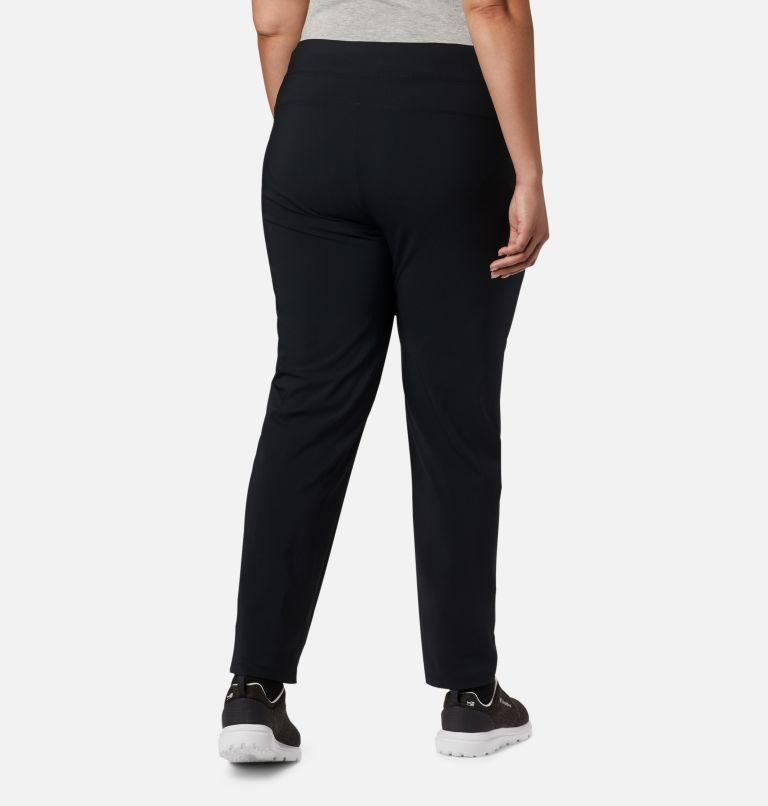 Back Beauty™ II Slim Pant | 010 | 3X Women's Back Beauty™ II Slim Pants - Plus Size, Black, back