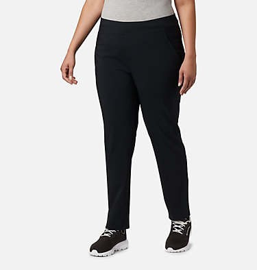 Women's Back Beauty™ II Slim Pants - Plus Size Back Beauty™ II Slim Pant | 023 | 1X, Black, front